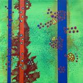 #01 - acrylic on canvas, 40x40x1,5cm 16x16x.6in (2017) - US$250