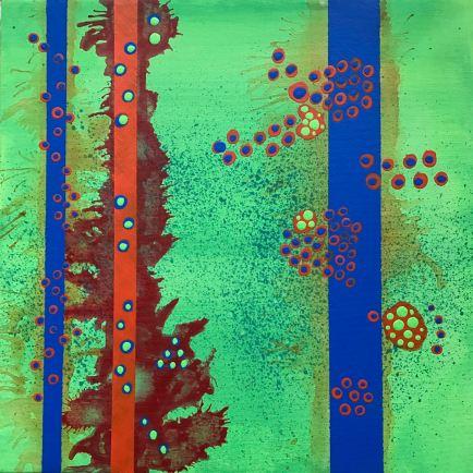 #01 - acrylic on canvas, 40x40x1,5cm 16x16x.6in (2017) - USD250