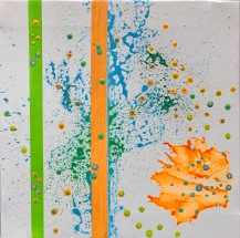 #02 - varnish and acrylic on canvas, 30x30x1,5cm 12x12x.6in (2017) - USD200