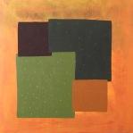 #12 - acrylic on canvas, 100x100x3cm 40x40x1.2in (2017) - US$1,100